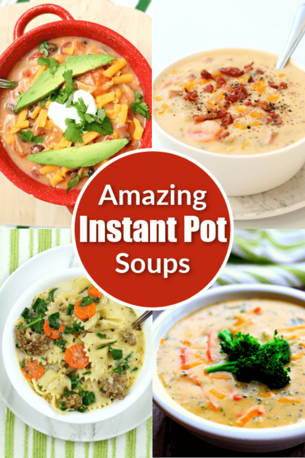 If your weather is getting a little chilly put on a pot of soup. These 20+ Instant Pot and slow cooker soups, stews and chilis are some of my absolute favorites! Plus the leftovers the next day taste so amazing. It's almost as if the flavors get better over time.