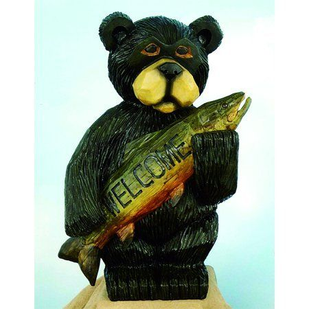 Welcome Bear Garden Statue 16 By Land And Sea 44 00
