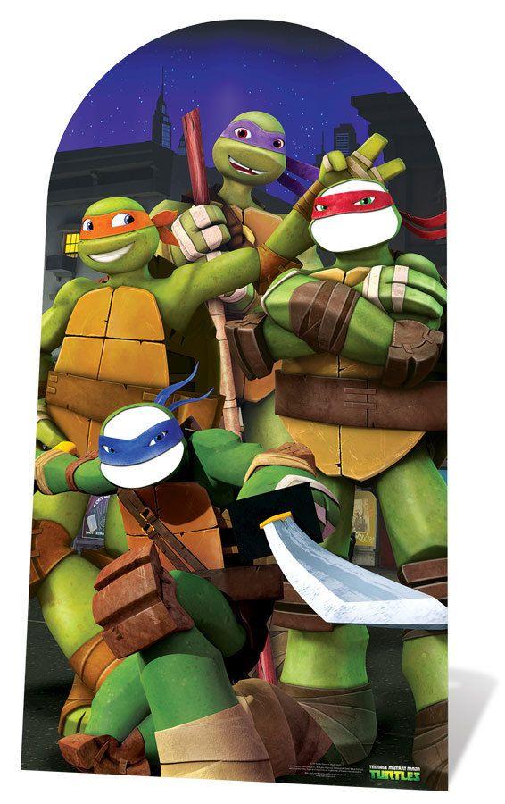 Teenage Mutant Ninja Turtles Cutouts