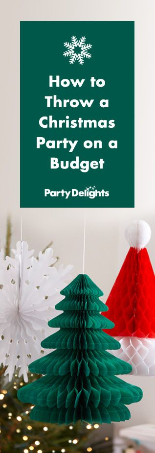 find out how to throw a christmas party on a budget with our money saving party tips from cheap christmas decorating ideas to what type of party food to