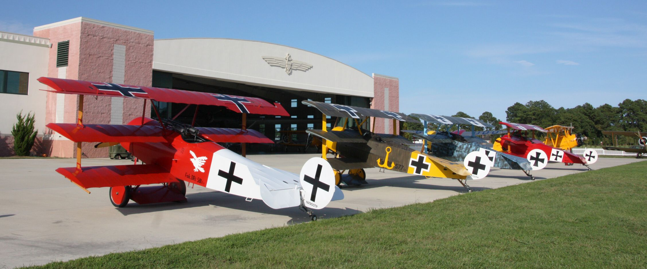 These Ww I Planes Can Be Seen At The Military Aviation Museum Pungo Va Beach This Is One Of Six Hangers Your Visit After Entry