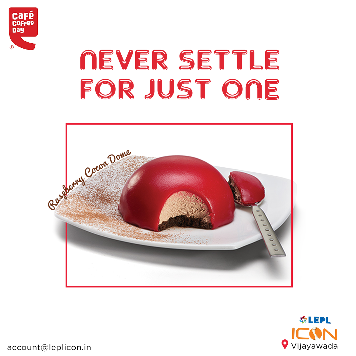 Check out Cafe Coffee Day's latest Dessert Delights menu