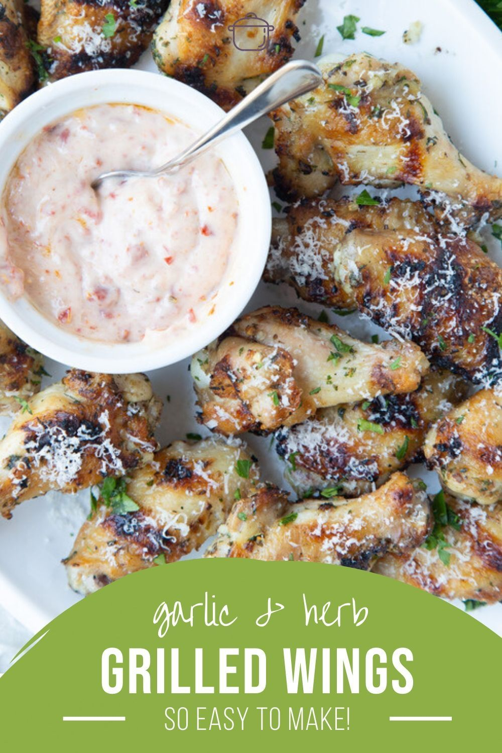Garlic and Herb Grilled Chicken Wings | Gift of Hospitality