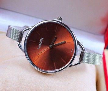 f27656c7538 Jednoduché dámské hodinky hnědé + POŠTOVNÉ ZDARMA Na tento produkt se  vztahuje nejen zajímavá sleva