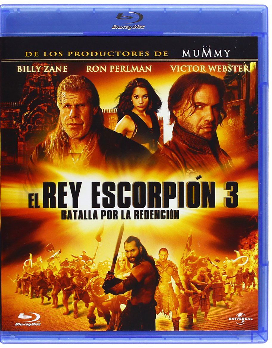 El Rey Escorpion 3 Blu Ray Rey El Escorpion Ray Kings Movie The 3 Kings Billy Zane