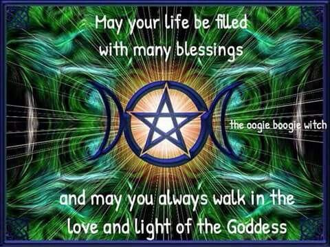 Blessing goddess sign