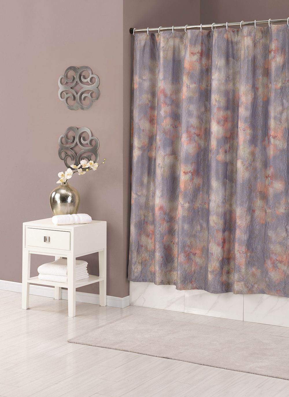 Mandala Shower Curtain Jessica Simpson Bath Collection Shower
