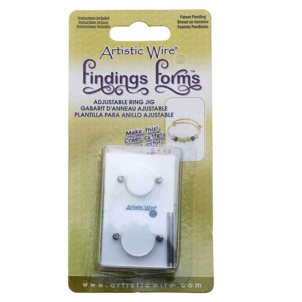 Artistic Wire 1-Piece Swoop Ear Wire Jig Findings Forms