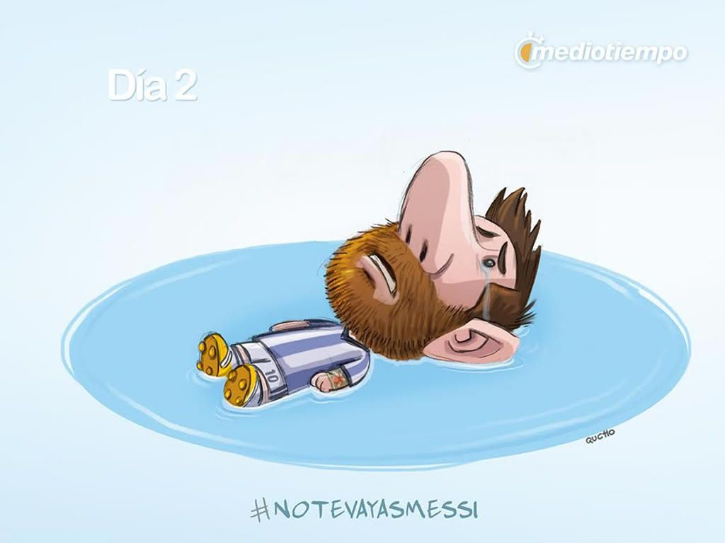 Todos con Messi