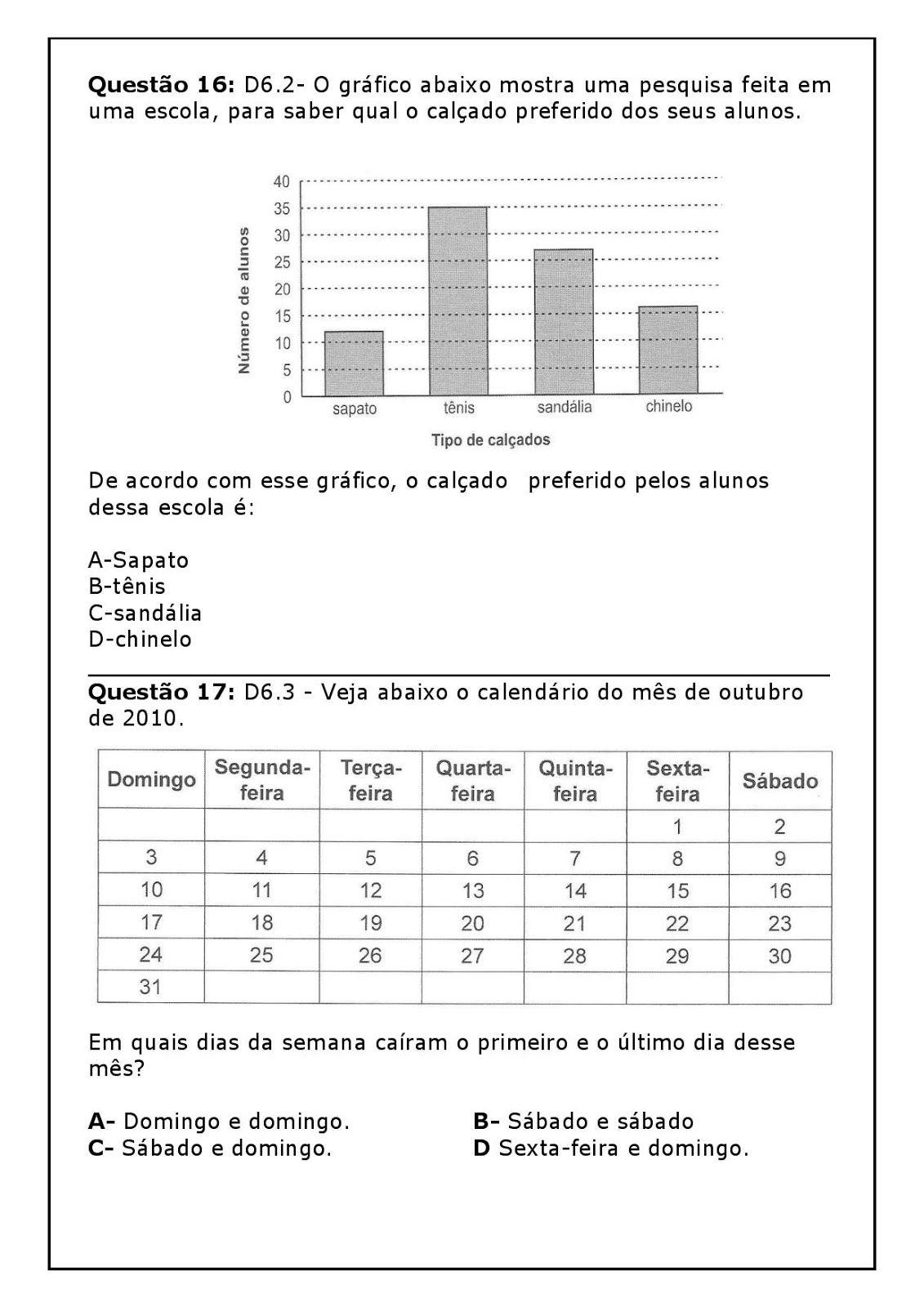 Pin Em Matematica 2 Ano