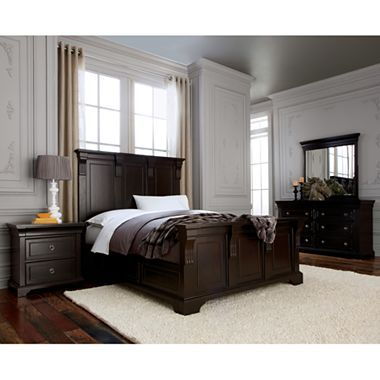 Providence Panel Bedroom Furniture in Antique Espresso - jcpenney ...