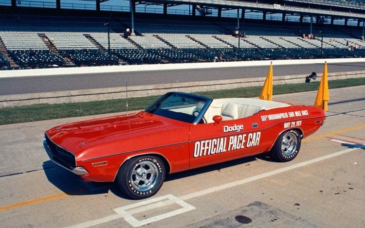 Pin By Wayne Thornton On Indy 500 Greatest Spectacle In Racing Dodge Challenger Hot Rods Cars Muscle Indianapolis 500