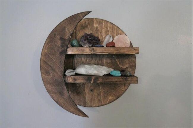 Photo of Wie man ein DIY Moon Shelf baut