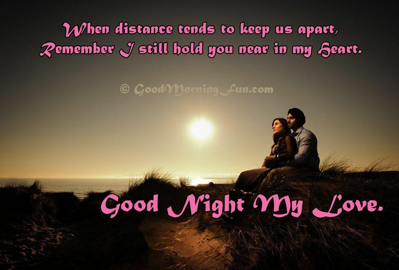 Pin by Bidisha Kuls on goodnite Distance love quotes