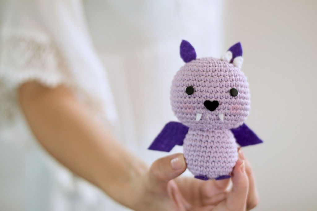 Amigurumi Bat by Croby Patterns | AAAAAmigurumi | Pinterest | Patrón ...