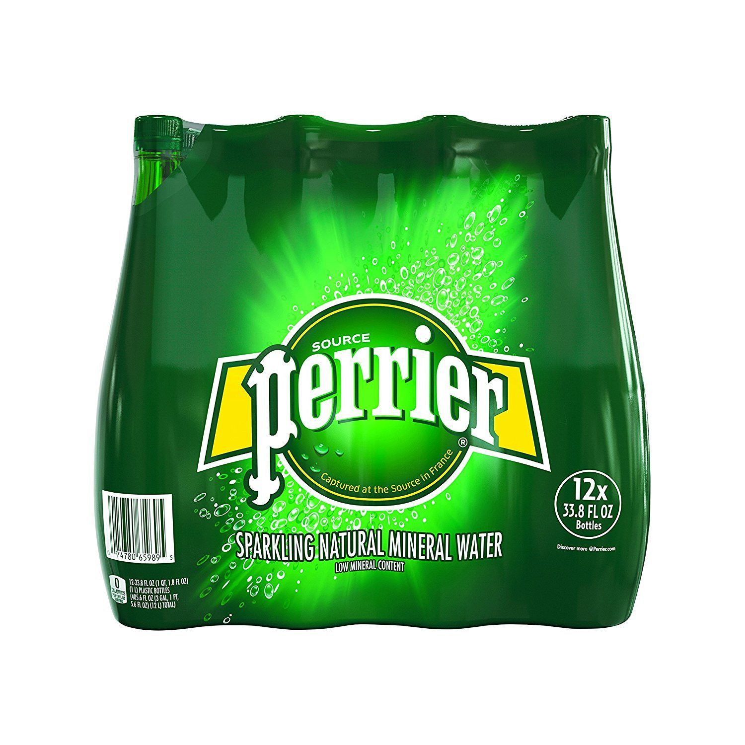 a1a0e94e6e Perrier Sparkling Natural Mineral Water 33.8 Ounce Pack of 12 ...