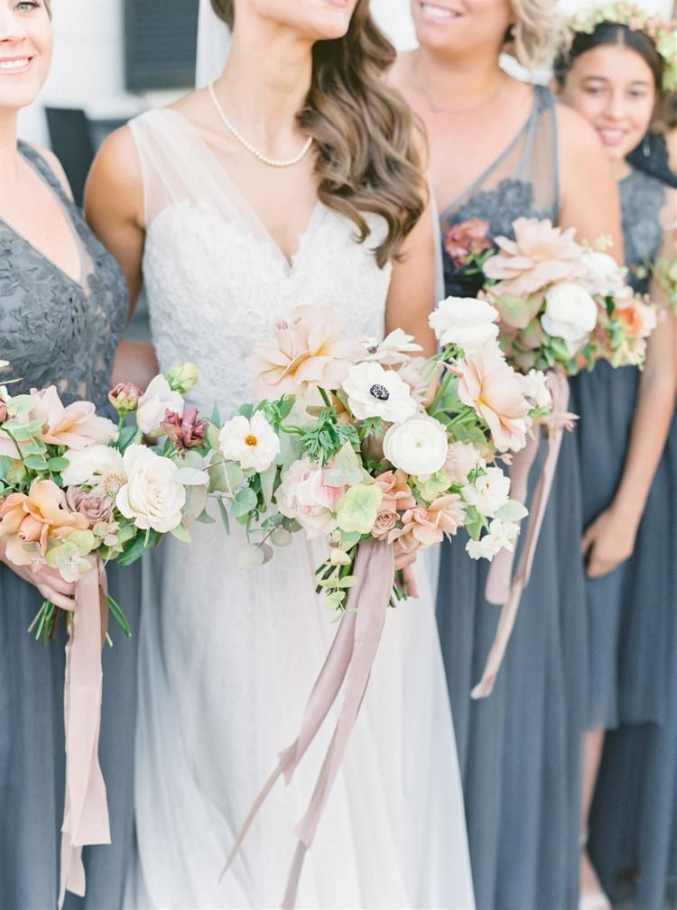 Photo of An undeniably romantic yet rustic wedding inside the Topping Rose House