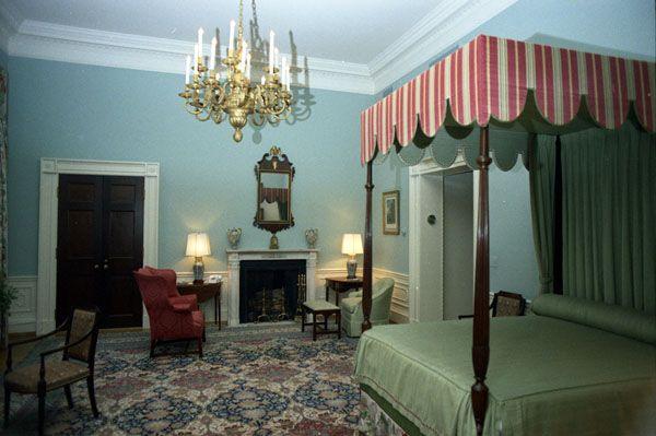 Nixon bedroom 1973