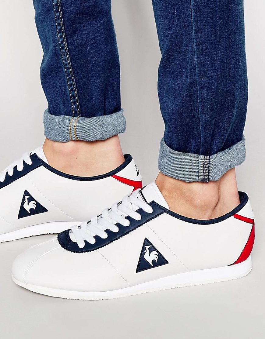 comprar popular b9586 17286 Image 1 of Le Coq Sportif Wendon Leather Sneakers | Just for ...