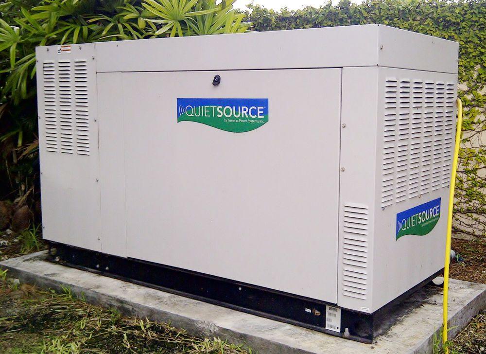 Neverused Generac Guardian Quietsource Liqcooled Model 005420 35kw 4 2l V6 Alum Guardian Generator Home Appliances Home Air Conditioner