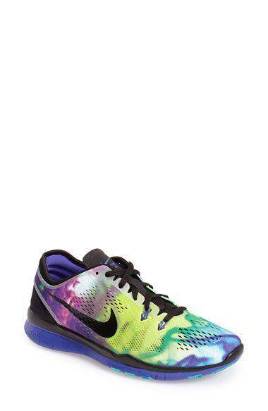 newest 95ec5 2e4b2 Nike  Free 5.0 TR Fit 5 Print  Training Shoe (Women)   Nordstrom