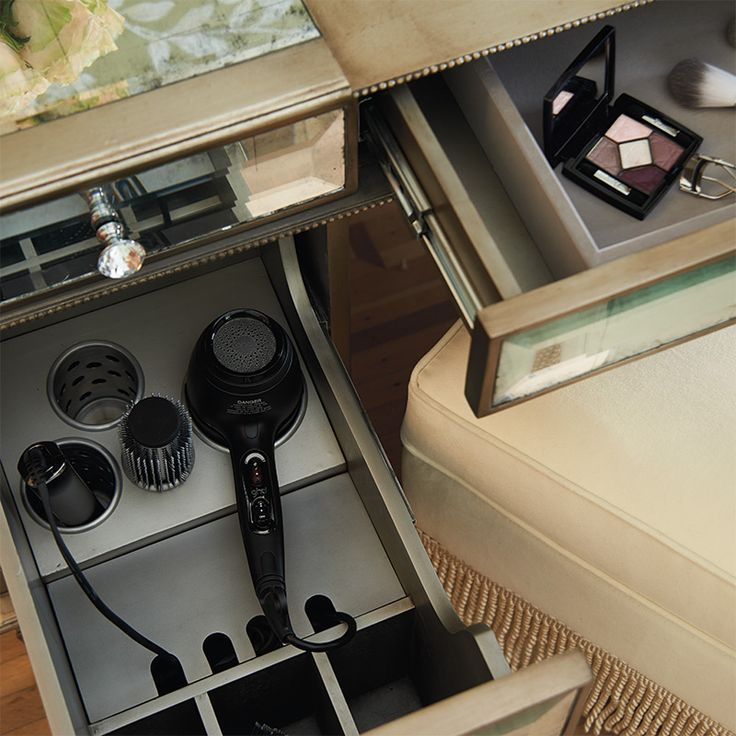 Image result for HOW DO I MAKE A HAIR DRYER PULL OUT VANITY DRAWER ...