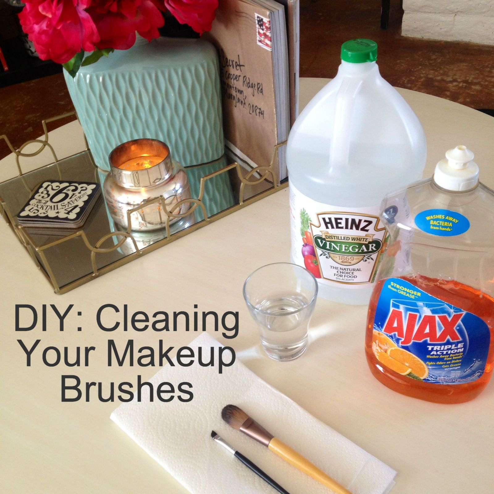 DIY Clean Your Makeup Brushes Makeup yourself, Cleaning