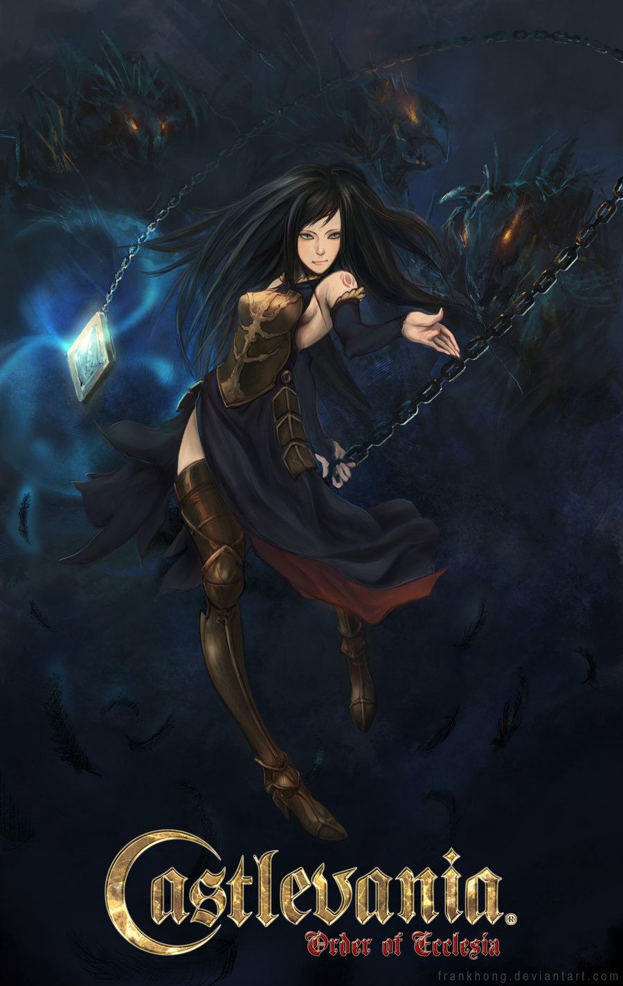 Shanoa Castlevania Order Of Ecclesia Fantasy Female Warrior
