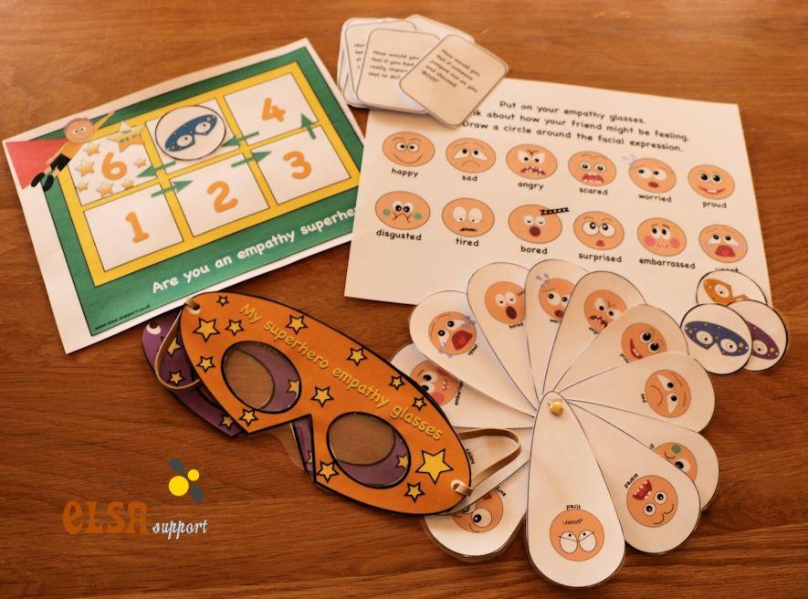 Empathy game item 079 elsa support empathy game