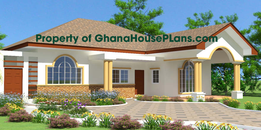 House Blueprints Nii Ayitey House Plan 1 997 Usd House