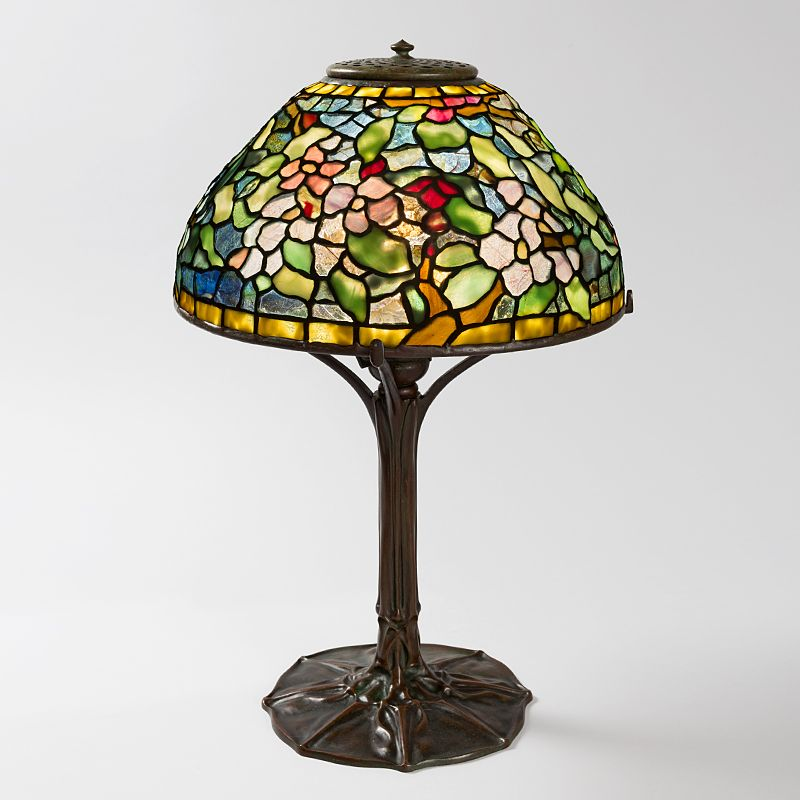 Apple blossom tiffany lamp macklowe gallery