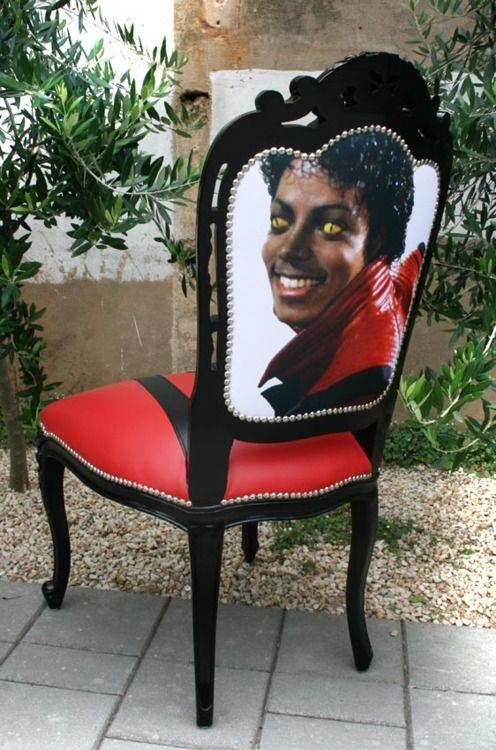 Michael Jackson Thrill Us Chair Michael Jackson Thriller Michael Jackson Jackson Furniture