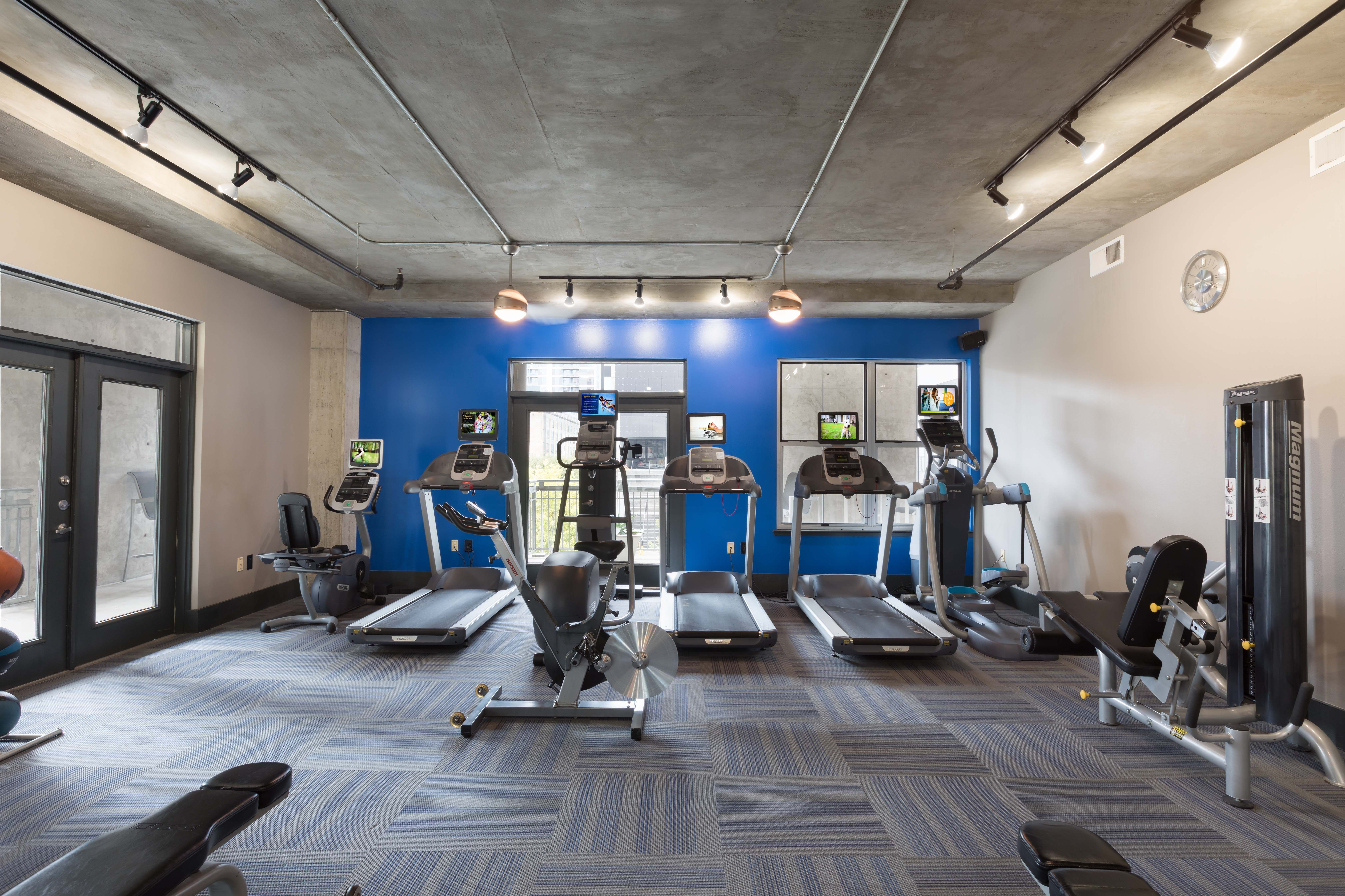Cancel your gym membership! Our fitness center is