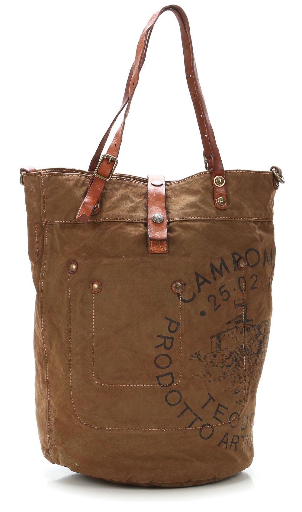 presenting best choice official wardow.com - #Campomaggi, lavata Shopper cognac 42 cm | Hold ...