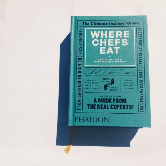 WHERE CHEFS EAT / Phaidon / www.colectivo7186.com