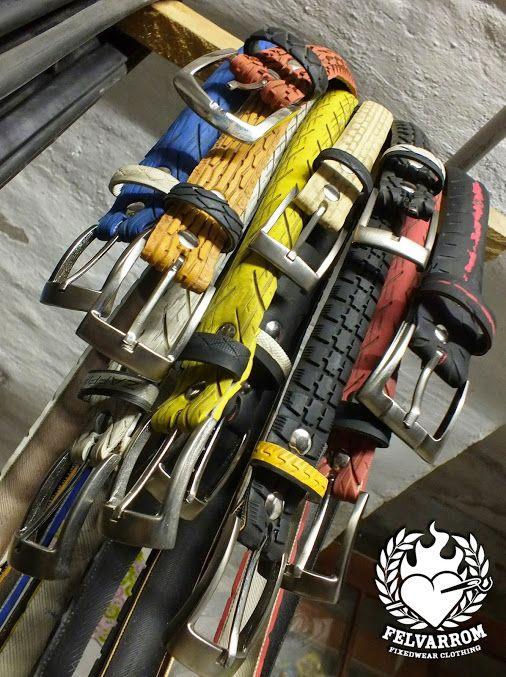 #felvarrom #tirebelt hanging in our workshop