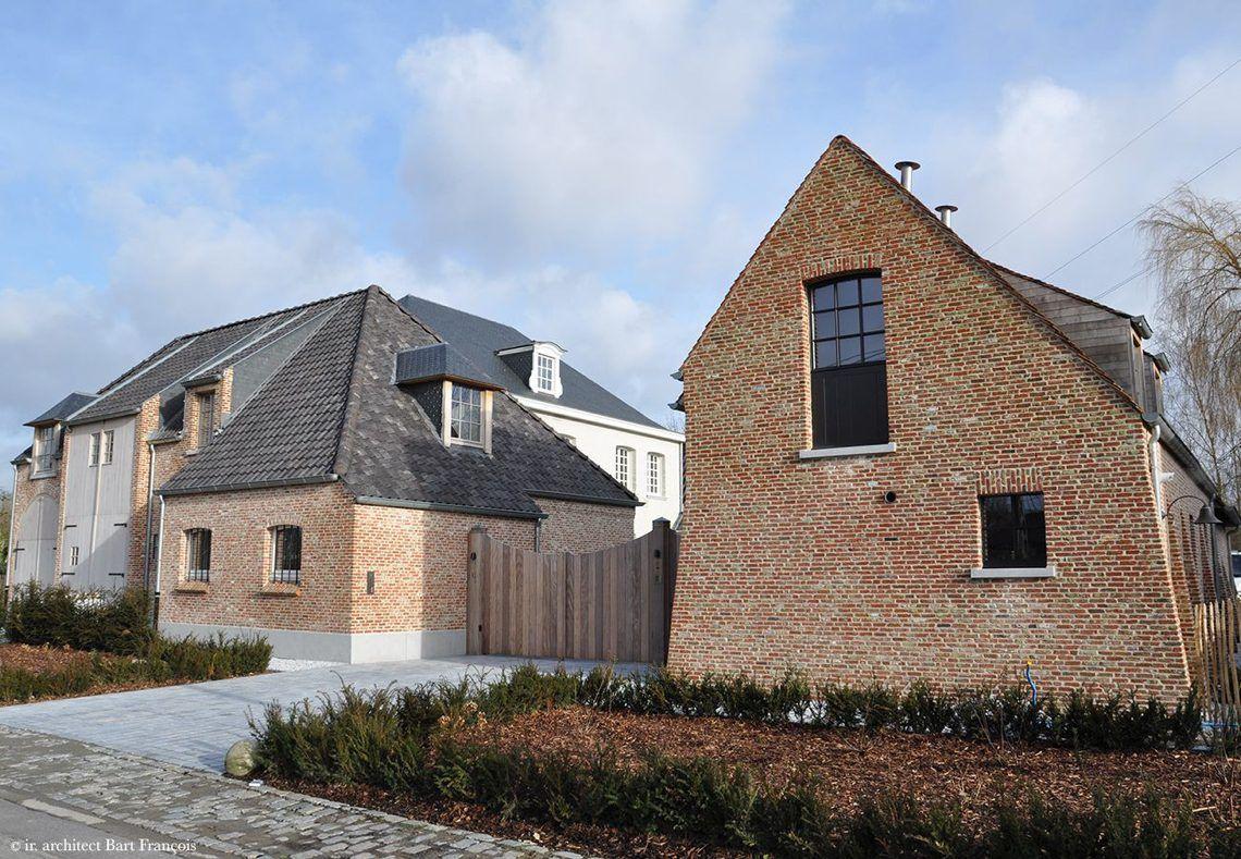 Architectenbureau bart françois project liezele hoog