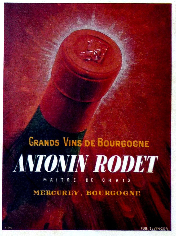 Vintage Old Ads France 1943 Anciennes Publicites Bourgogne Wine Wine Poster Vintage Wine Vintage Ads