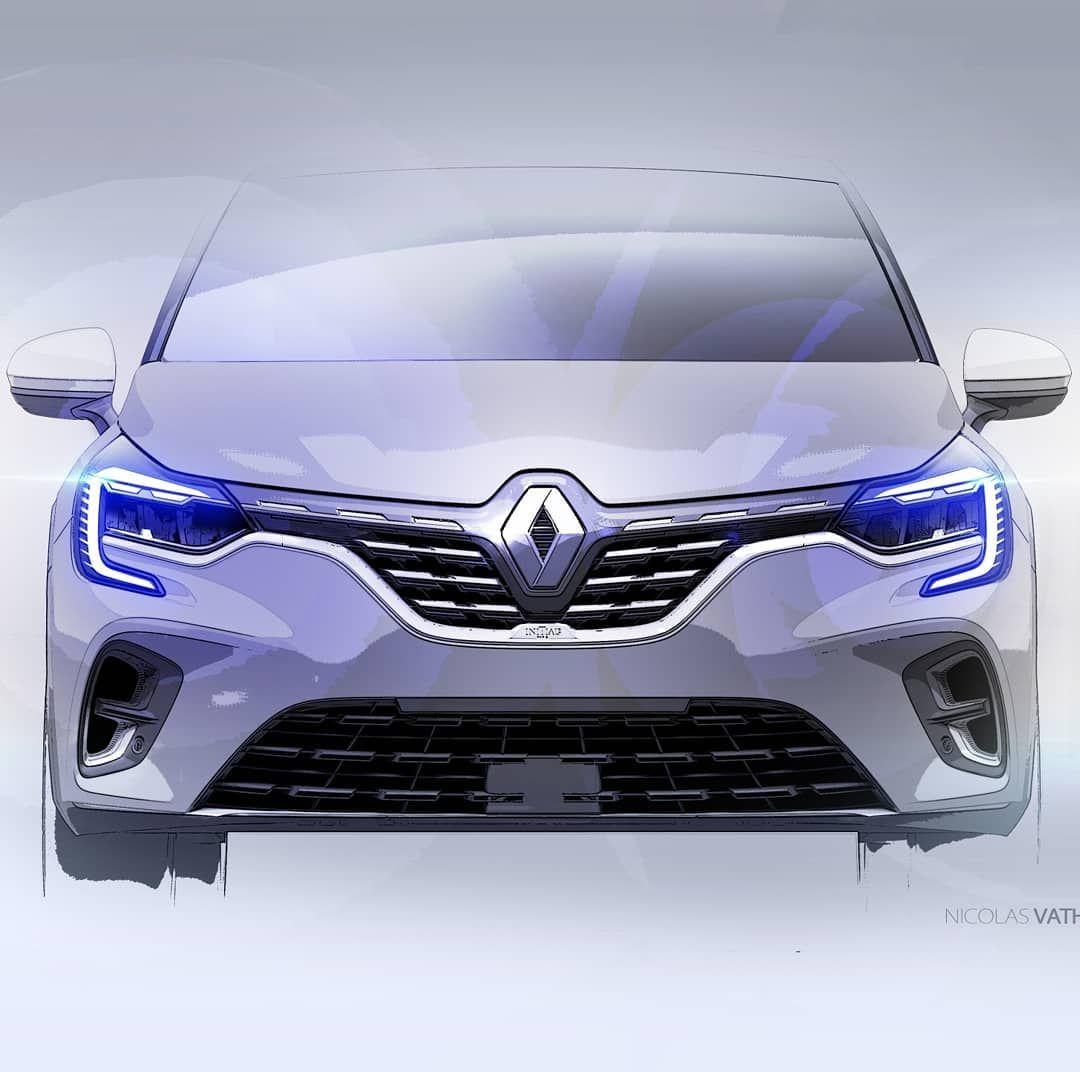 All New Renault Captur Design Sketches By Nicolas Vathonne Creds