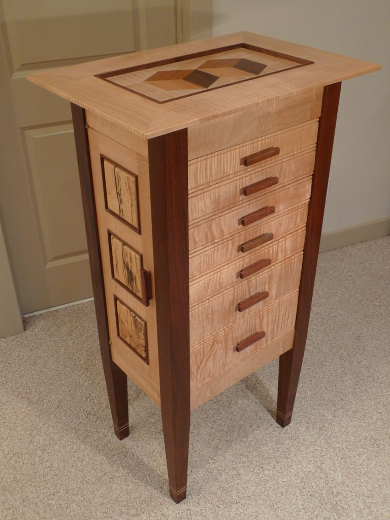 Jewelry Armoire Readers Gallery Fine Woodworking Furniture