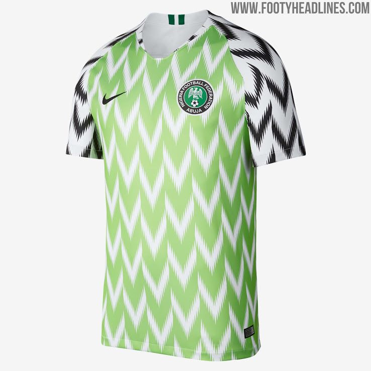 Already Sold Out Nigeria 2018 World Cup Home Away Kits Released Footy Headlines World Cup Jerseys Soccer World Soccer Jersey
