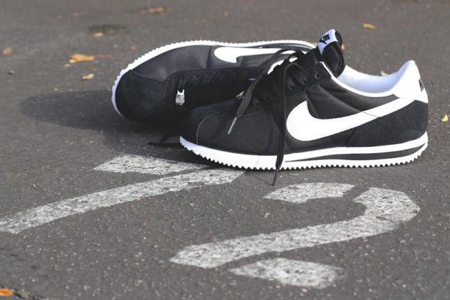 "Nike Cortez Basic Nylon '06 ""Black & White"" - EU Kicks: Sneaker Magazine"