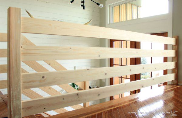 Best Horizontal Railing Straight Section Diy Stair Railing 400 x 300