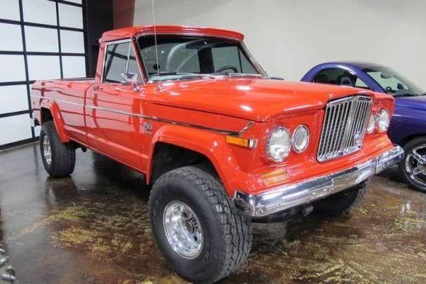 Jeep J10 Pick Up 4x4 V 8 Auto Full Power Classic Trucks Trucks