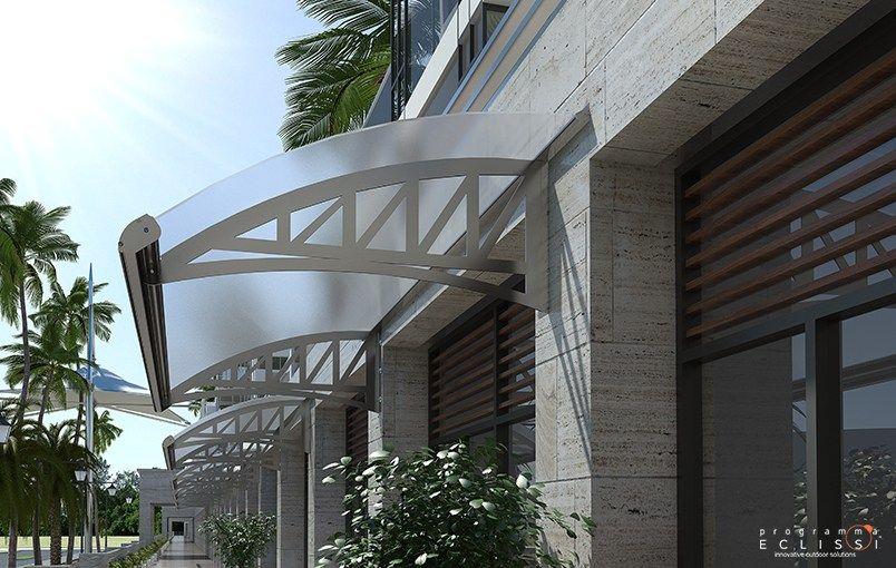 techo para reja de proteccin para puertas para escalera flex by tenda service
