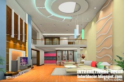 Living Room False Ceiling Designs Pictures Endearing 10 False Ceiling Modern Design Interior Living Room  Kashni Decorating Design