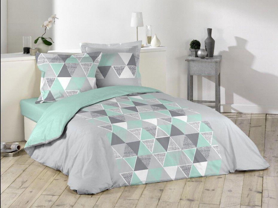 parure de couette bjorn 220x240cm 2 taies 63x63cm bleue deco maison 2 pinterest parure. Black Bedroom Furniture Sets. Home Design Ideas
