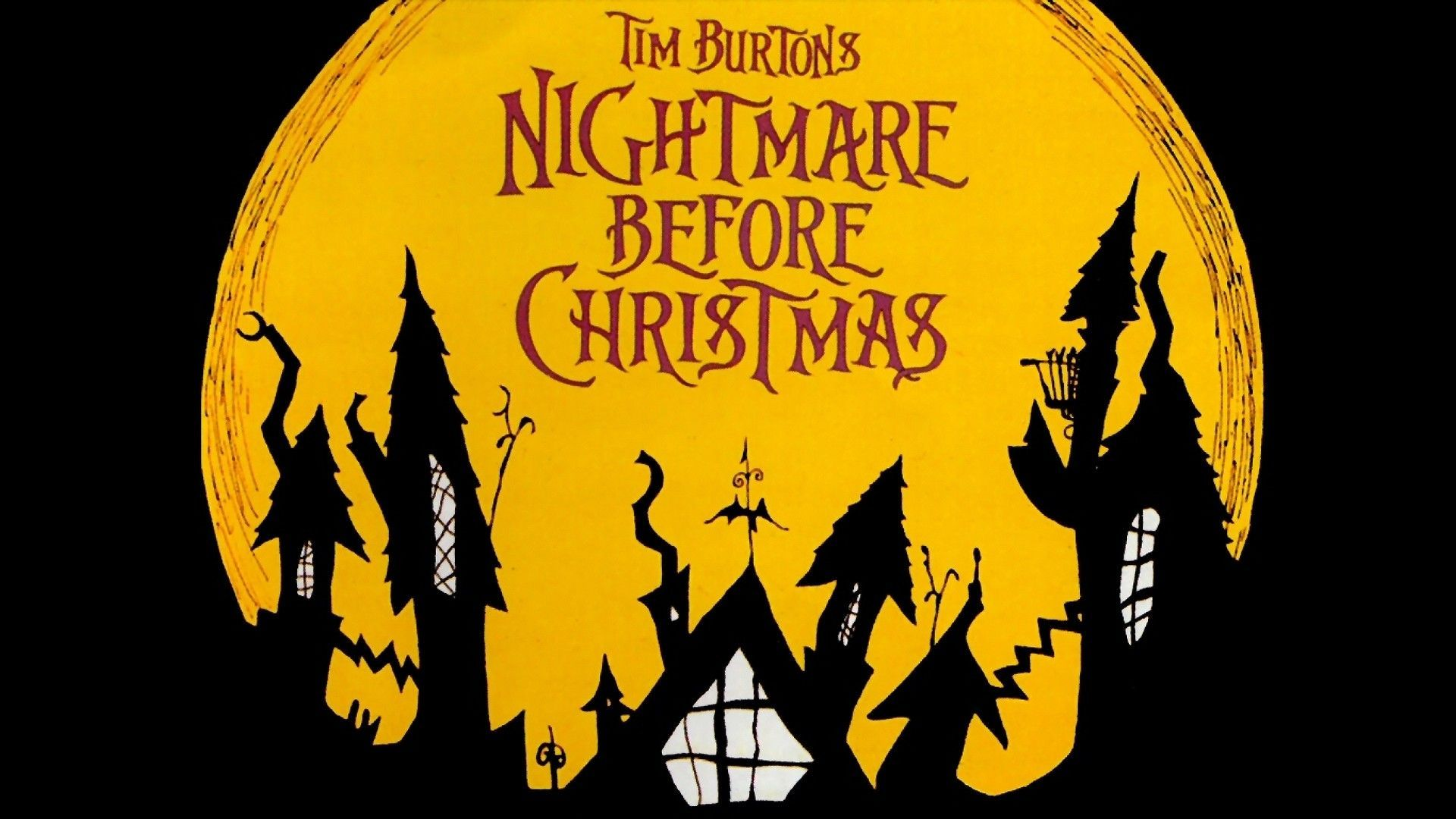 Nightmare Before Christmas Backgrounds Wallpaper | Nightmare before ...