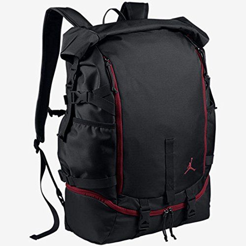 7bb6048bd6102d Jordan Jumpman Top Loader Backpack Black Gym Red 658401010     Click image  for more details.