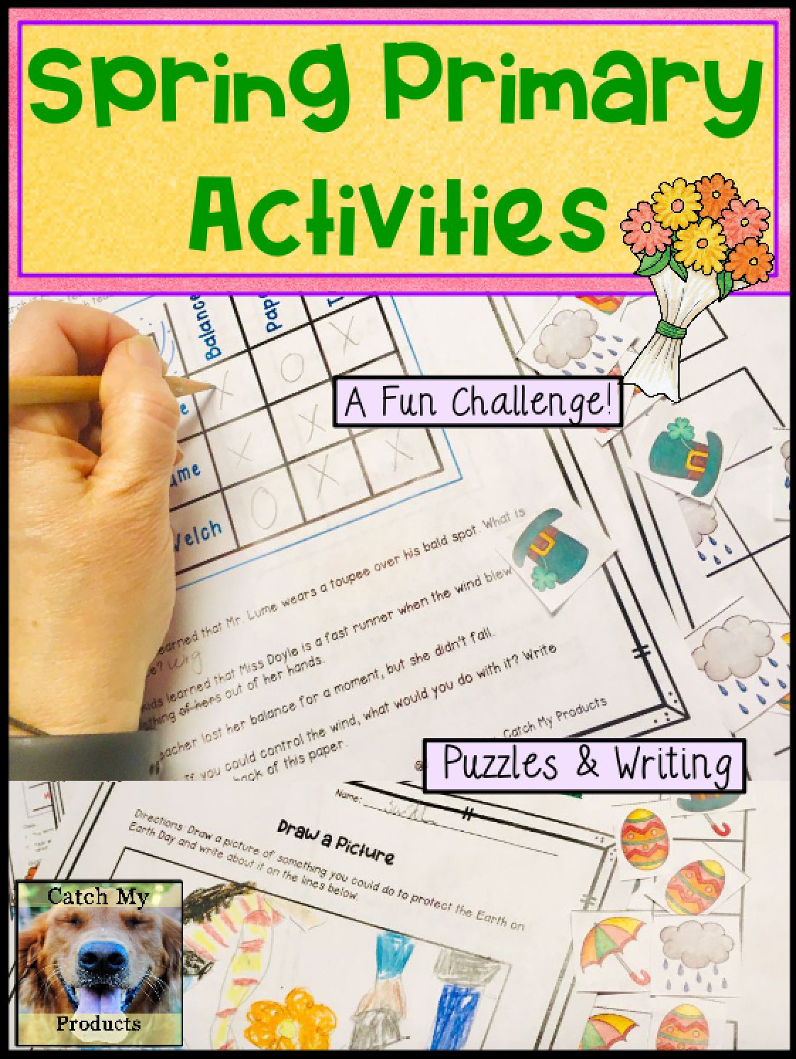 Spring Activity Worksheets In Printable Or Virtual Documents Activities Elementary Fun Learning [ 1492 x 1122 Pixel ]